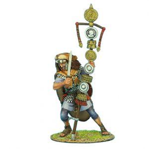 ROM095 IMPERIAL ROMAN PRAETORIAN GUARD SIGNIFER