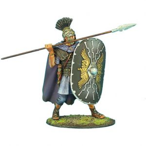 ROM103 IMPERIAL ROMAN PRAETORIAN GUARD WITH SPEAR #2