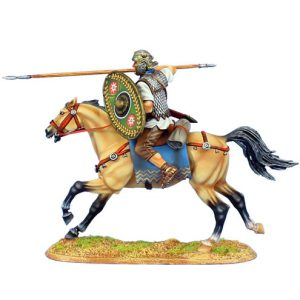 ROM121 IMPERIAL ROMAN AUXILIARY CAVALRY WITH SPEAR - ALA II FLAVIA