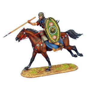 ROM122 IMPERIAL ROMAN AUXILIARY CAVALRY THROWING JAVELIN - ALA II FLAVIA