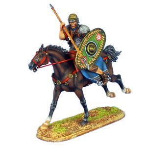 ROM124 IMPERIAL ROMAN AUXILIARY CAVALRY WITH SPEAR - ALA II FLAVIA