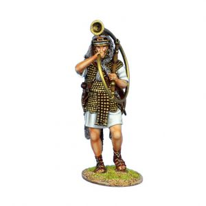 ROM131 IMPERIAL ROMAN CORNICEN - LEGIO I ADIUTRIX