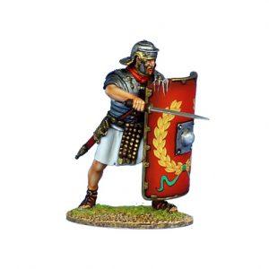ROM134 IMPERIAL ROMAN LEGIONARY WITH GLADIUS - LEGIO I ADIUTRIX