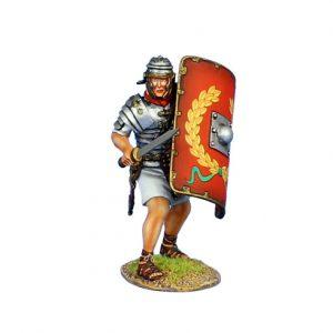 ROM135 IMPERIAL ROMAN LEGIONARY WITH GLADIUS - LEGIO I ADIUTRIX
