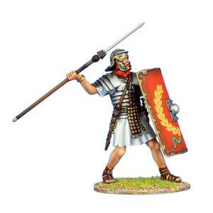 ROM136 IMPERIAL ROMAN LEGIONARY WITH PILUM - LEGIO I ADIUTRIX