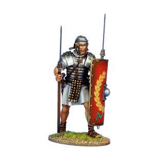ROM137 IMPERIAL ROMAN LEGIONARY WITH TWO PILUM - LEGIO I ADIUTRIX