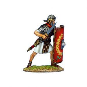 ROM138 IMPERIAL ROMAN LEGIONARY WITH GLADIUS - LEGION I ADIUTRIX
