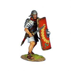 ROM139 IMPERIAL ROMAN LEGIONARY WITH GLADIUS - LEGIO I ADIUTRIX