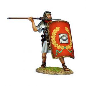 ROM140 IMPERIAL ROMAN LEGIONARY WITH PILUM - LEGIO I ADIUTRIX