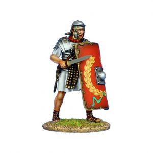 ROM141 IMPERIAL ROMAN LEGIONARY WITH GLADIUS - LEGIO I ADIUTRIX