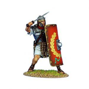 ROM142 IMPERIAL ROMAN LEGIONARY WITH GLADIUS - LEGIO I ADIUTRIX