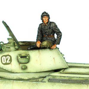 RUSSTAL022 RUSSIAN TANK  COMMANDER