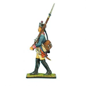 SYW007 PRUSSIAN 7th LINE INFANTRY REGIMENT MUSKETEER MARCHING
