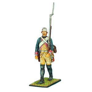 SYW008 PRUSSIAN 7th LINE INFANTRY REGIMENT MUSKETEER MARCHING BANDAGED HEAD