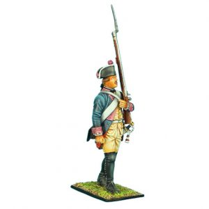 SYW009 PRUSSIAN 7th LINE INFANTRY REGIMENT MUSKETEER MARCHING