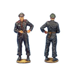 TC007 GERMAN TANK CREW WITH CIGARETTE