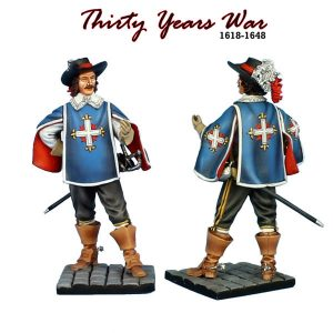 TYW001c  d'ARTAGNAN - 1st COMPANY ROYAL MUSKETEERS
