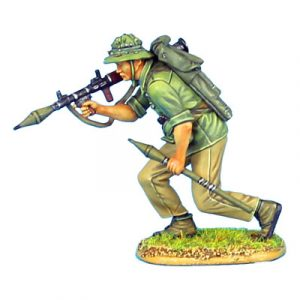 VN016 NVA INFANTRY ADVANCING WITH RPG-7