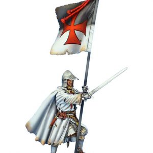 CRU087 TEMPLAR KNIGHT WITH STANDARD