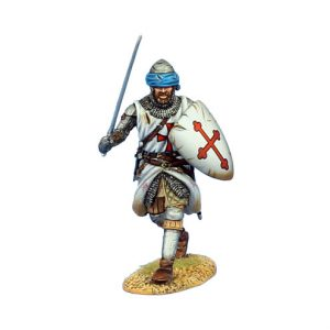 CRU089 TEMPLAR KNIGHT ADVANCING WITH SWORD