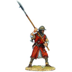CRU092 HOSPITALLER KNIGHT WITH HALBERD