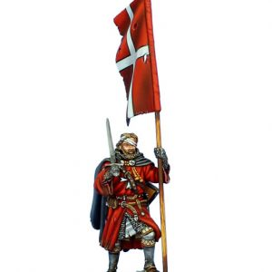 CRU093 HOSPITALLER KNIGHT WITH STANDARD