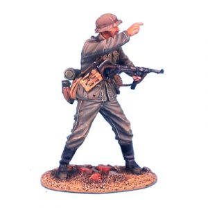GERSTAL005 HEER INFANTRY OBERFELDWEBEL WITH MP40