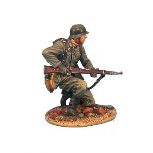 GERSTAL008 HEER INFANTRY KNEELING WITH RIFLE