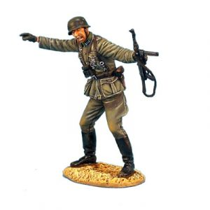 GERSTAL014 HEER INFANTRY OBERLEUTNANT WITH MP40