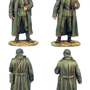 GERSTAL021C GERMAN ARTILLERY CREW IN GREATCOATS - 2 FIGURES