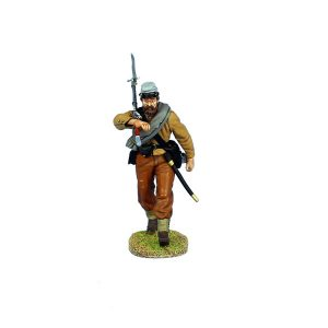 MB001 ACW CONFEDERATE CAPTAIN ADVANCING WITH SWORD
