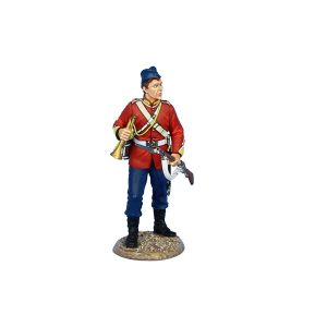 MB059 BRITISH 80th FOOT TRUMPETER