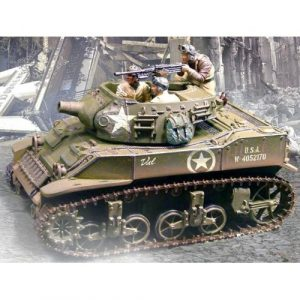 CS00383 M8 STUART HOWITZER NORMANDY TANK