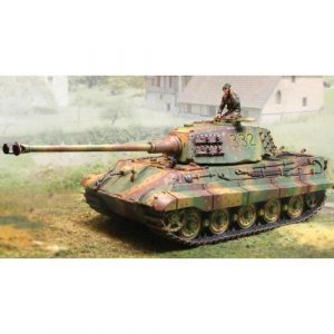 CS00455 KING TIGER PORSCHE TURRET WITH ZIMMERMIT