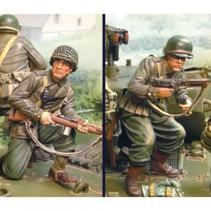 CS00461 SHERMAN NORMANDY RIDERS