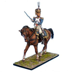 NAP0098 FRENCH 61st LINE INFANTRY MOUNTED COLONEL