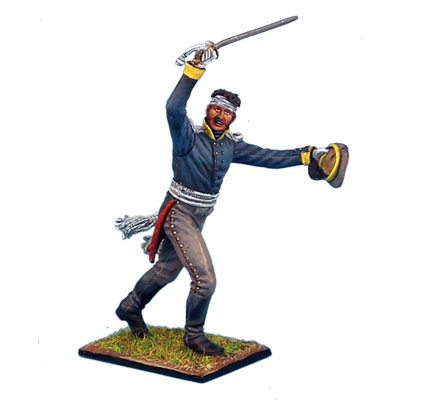 NAP0150 PRUSSIAN 11th LINE INFANTRY OFFICER WITH SHAKO