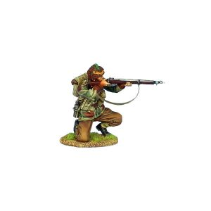 NOR059 BRITISH AIRBOURNE KNEELING FIRING ENFIELD MK 1