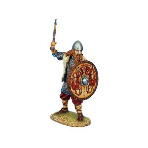 VIK005 VIKING WARRIOR SHIELDWALL WITH AXE
