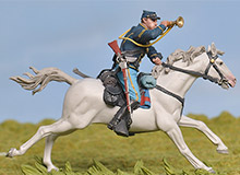 Custers Charge at Gettysburg
