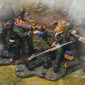 CS00322 95th RIFLES WOUNDED SET