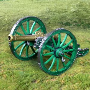 CS00764 FRENCH GUARD HORSE CANNON