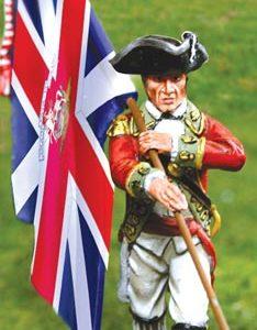 CS00835 BRITISH GRENADIER FLAGBEARER