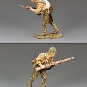 JN028 ADVANCING JAPANESE SOLDIER