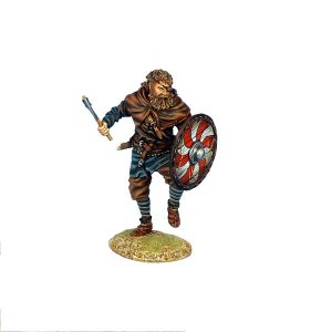 VIK009 ONE EYED VIKING WARRIOR WITH SWORD AND AXE