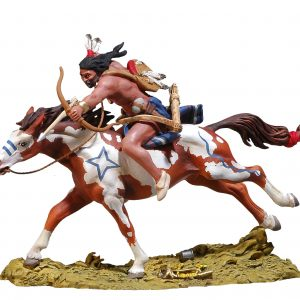 BH0117 GALLOPING CHEYENNE SHOOTING ARROW