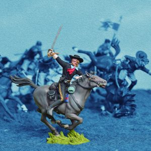 BH0801 MOUNTED GENERAL CUSTER
