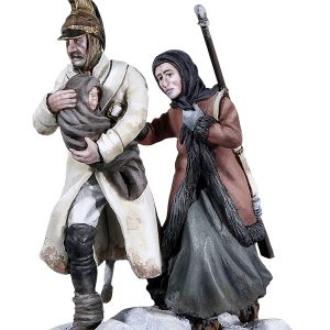 BH1007 DRAGOON WITH WOMAN AND CHILD