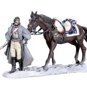 BH1013 WALKING CUIRASSIER WITH HORSE