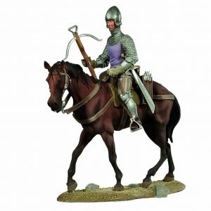 BH1106 CROSSBOWMAN ON HORSEBACK